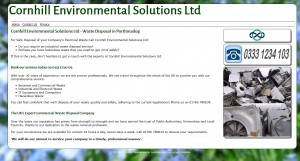 Cornhill Environmental Solutions Ltd